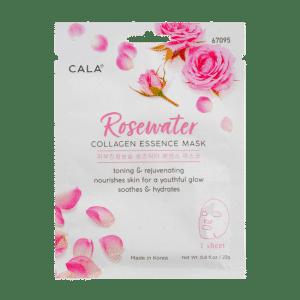 Mascarilla hidratante y tonificante de agua de rosas de Cala
