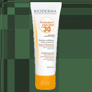 Bioderma protector solar AKN MAT 30 FPS para pieles mixtas a grasas o acneicas