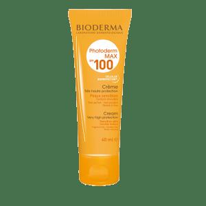 Protector solar para pieles claras de Bioderma Photoderm MAX creme 100+ FPS