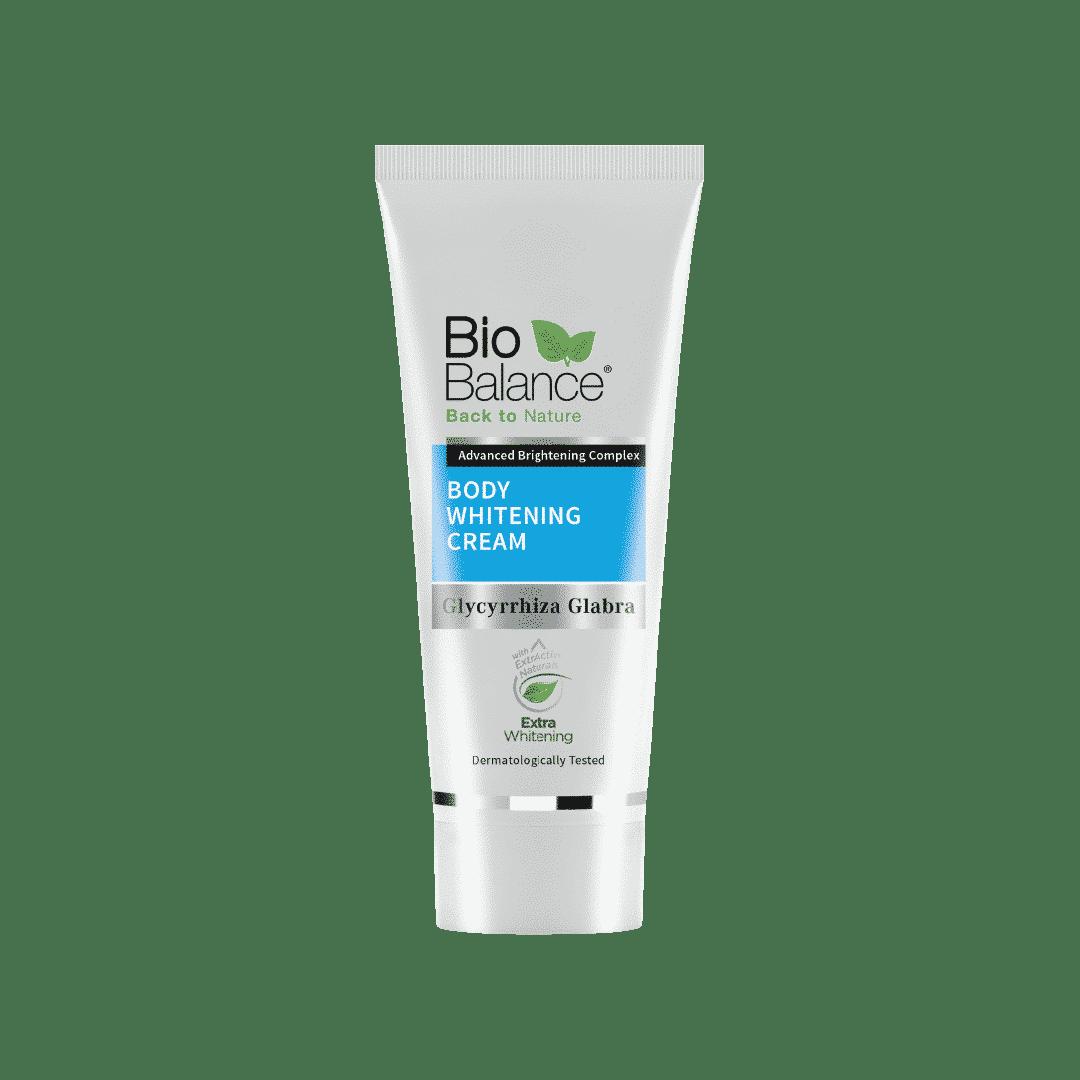 Crema blanqueadora corporal de Bio Balance