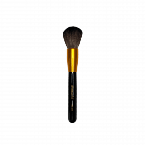 Brocha para aplicar polvo HC401 D'hermosa mango color negro