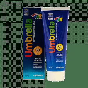 Protector solar de rostro y cuerpo de Umbrella emulsión 50+ FPS