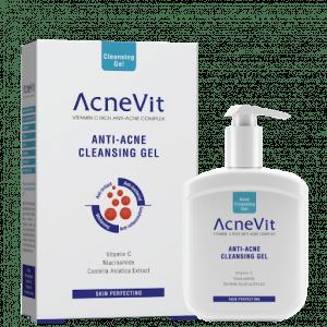 Gel limpiador para pieles grasas con tendencia acneica AcneVit