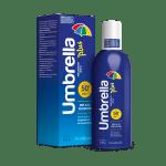 Protector solar en Spray para todo tipo de pieles rostro y cuerpo Umbrella PLUS SPF 50+
