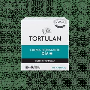 Crema hidratante de Tortulan con 15 FPS de filtro solar