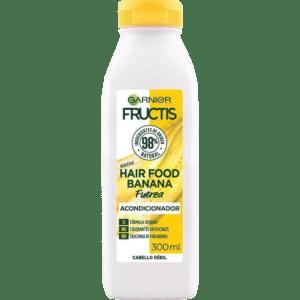 Acondicionador fructis food garnier de banana