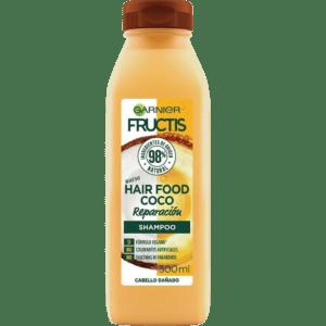 Shampoo orgánico Fructis Food de Garnier de coco