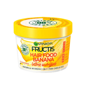 Mascarilla fructis hair food de banana