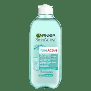 Agua Micelar PureActive para pieles mixtas a grasas de Garnier