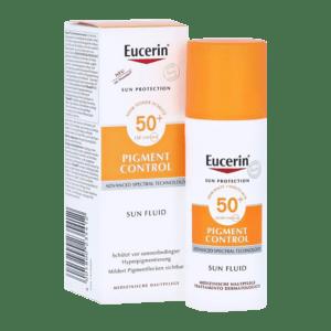 Protector solar antimanchas Eucerin Pigment Control 50+ FPS