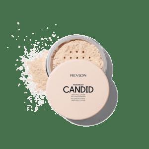 Polvo translúcido antipolución Candid de la marca Revlon
